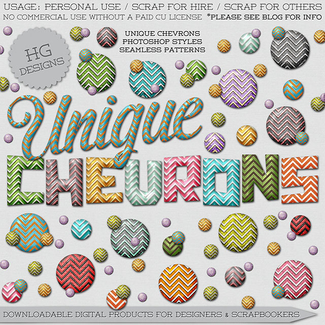freebie: unique chevrons styles
