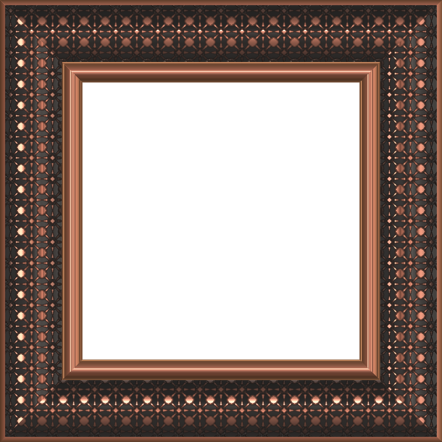 freebie copper frame hg designs