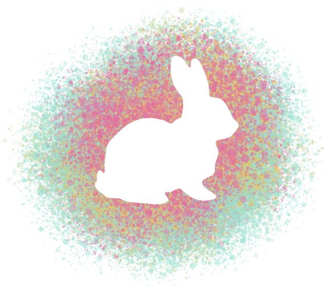 Click on bunny image, then right click and save to your computer.